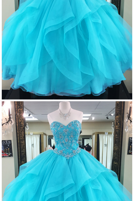 Turquoise Quinceanera Dresses,Ball Gowns Prom Dresses,Sweet 16 Dresses,Elegant Quinceanera Dresses