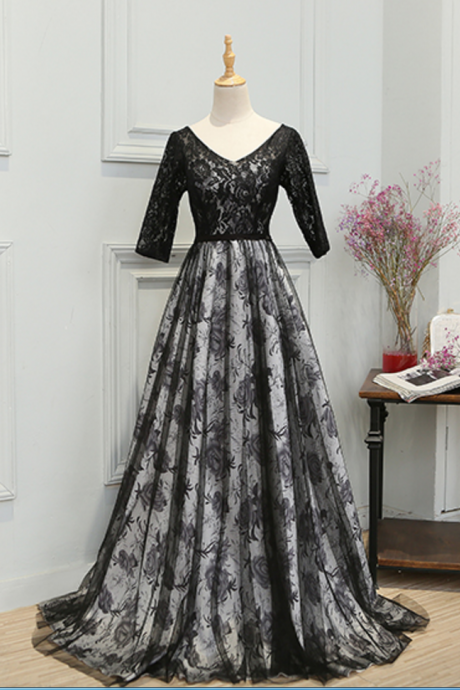 For a dress with the lace evening mother dress formal flower veils a party dress