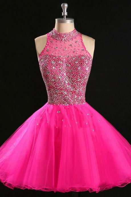 Open back homecoming dress, Beaded Sequin homecoming dress, short homecoming dresses, 2016 homecoming dress, short prom dresses, homecoming dresses