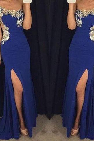 Evening Dresses, Prom Dresses,Party Dresses,Prom Dress, Prom Dresses, Prom Dresses,Prom Dresses,Prom Dresses Long Sleeves,Royal Blue Prom Dresses,Beading Evening Dresses,Sexy Slit Prom Dresses,One Shoulder Evening Dress,Mermaid Prom Dresses,Sexy Formal Gowns