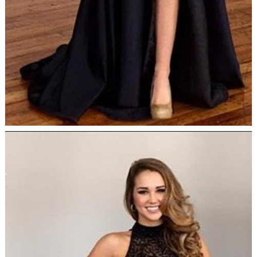 Midriff Prom Dress,Two Pieces Prom Dress, lace Prom Dress,Beaded Party Dress, Floor Length Prom Dress, Cheap Prom Dress, Prom Dresses