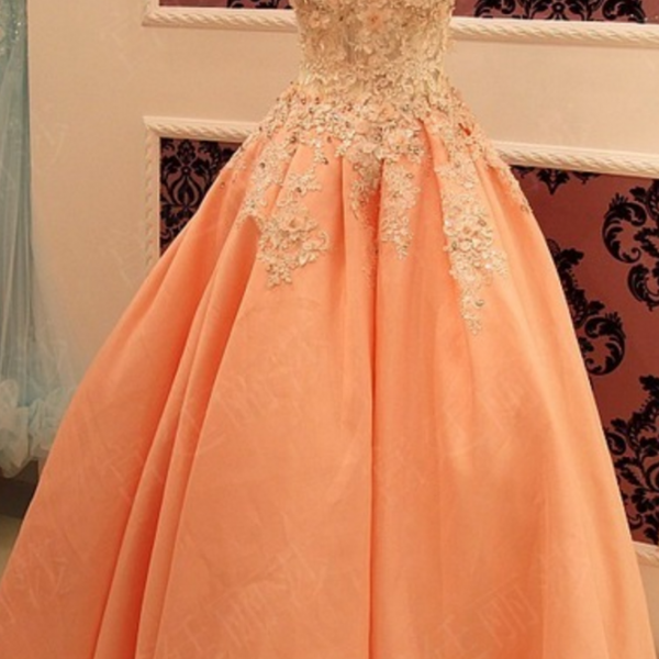 Ball Gown Prom Gowns,Lace Prom Dresses,Tulle Prom Dresses,Tulle Prom Gown,Prom Dress,Evening Gown For Teens