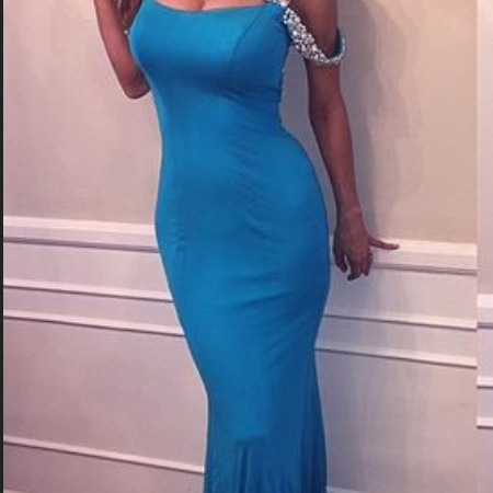 Sexy ,Mermaid , Straps, Sweep train ,Beading,Backless,Long Prom/Evening Dress , Long Prom Dress ,Party Dress